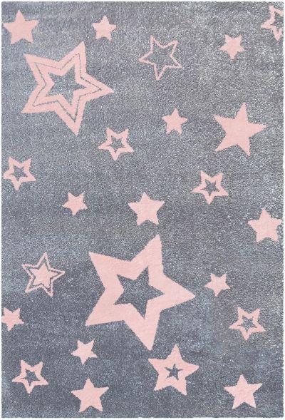 Kinderteppich grau rosa  Kinderteppich, STARS silbergrau/rosa, Happy Rugs | myToys