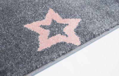 Kinderteppich grau rosa  Teppich, STAR rosa/silbergrau, 160 x 230 cm, Happy Rugs | myToys