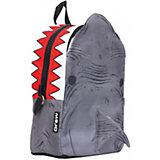 """Рюкзак """"Shark 3D"""", цвет серый/мульти"""