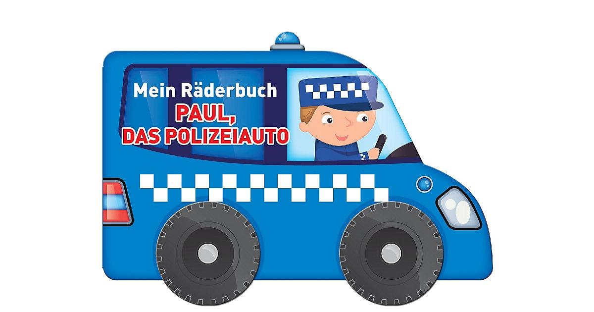 Mein Räderbuch: Paul, das Polizeiauto