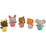"Набор ПВХ-игрушек для ванны ""LITTLE FRIENDS"", Happy Baby"