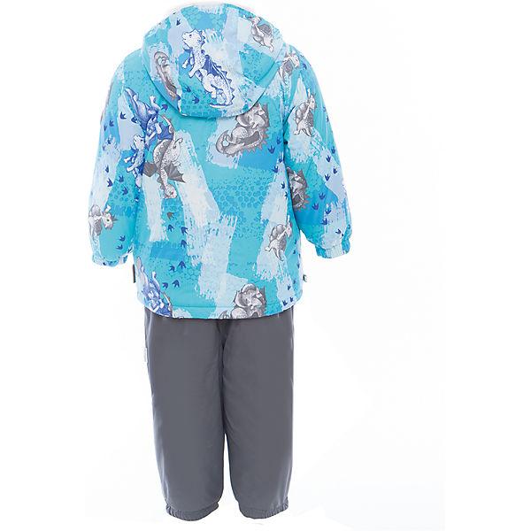 Комплект: куртка и полукомбинезон для мальчика CARLO Huppa