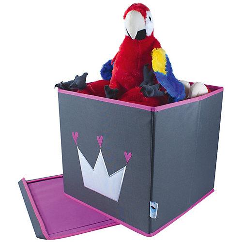 Коробка с крышкой для хранения Store it Корона - серый от STORE IT!