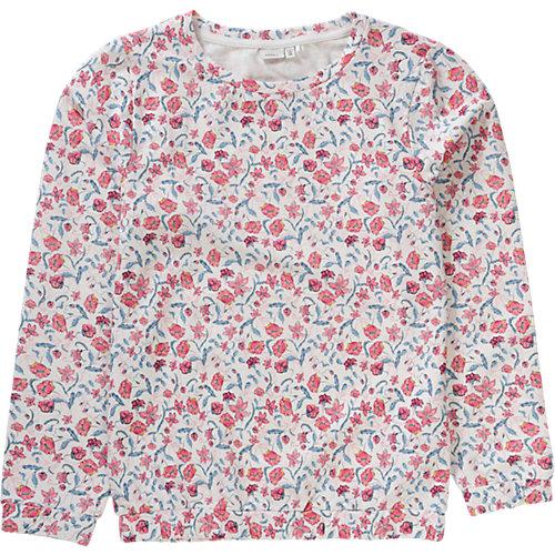 name it Sweatshirt NITHALU , Organic Cotton Gr. 158/164 Mädchen Kinder Sale Angebote Lindenau