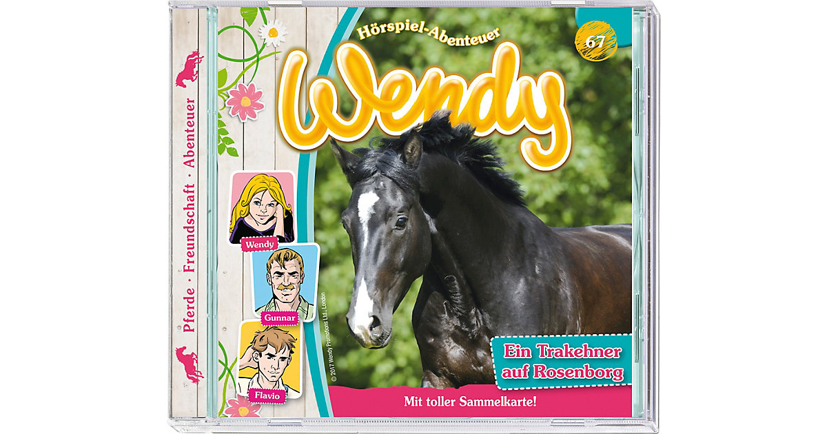 CD Wendy 67 - Ein Trakehner auf Rosenborg