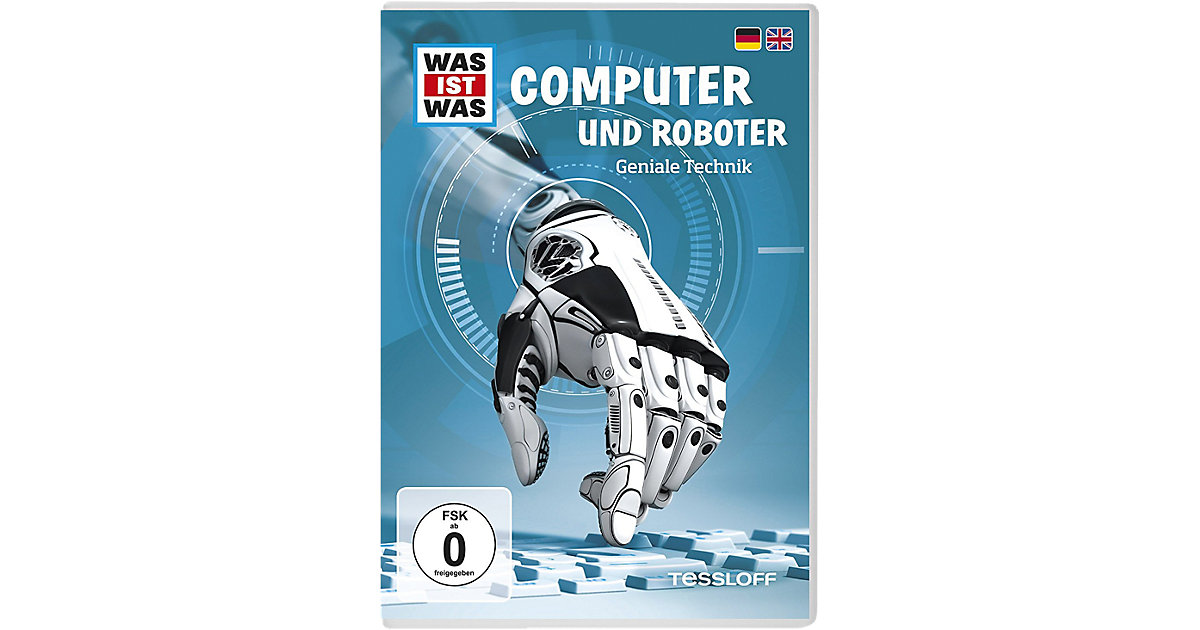 DVD Was Ist Was - Computer und Roboter Hörbuch