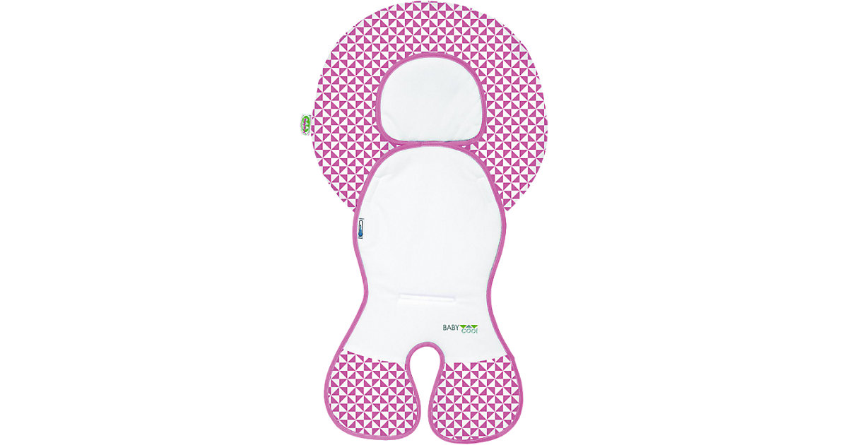 Odenwälder · Babycool-Auflage Babyschalen Gruppe 0, pink Kinder