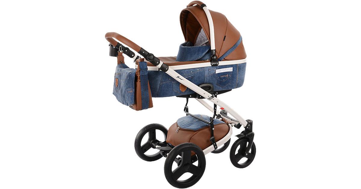 Knorr Toys · knorr-baby Kinderwagen K-One blue Jeans