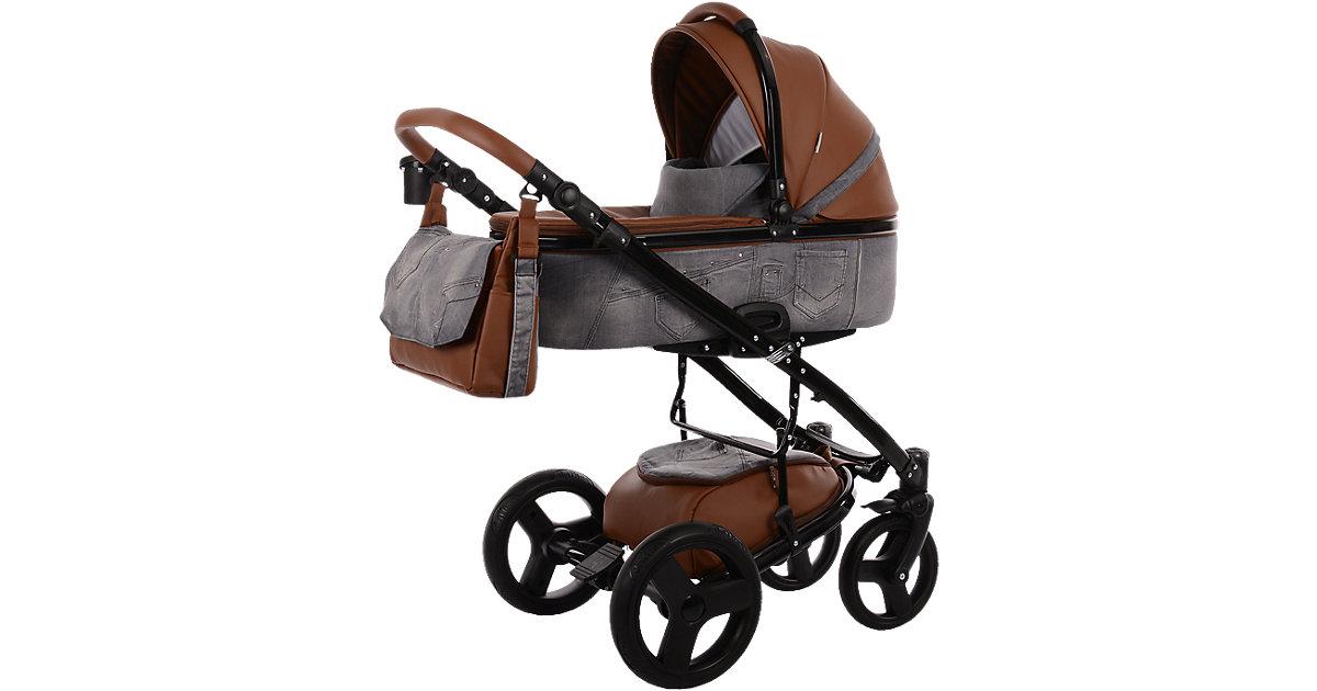 Knorr Toys · Kombi-Kinderwagen K-One, Grey Jeans