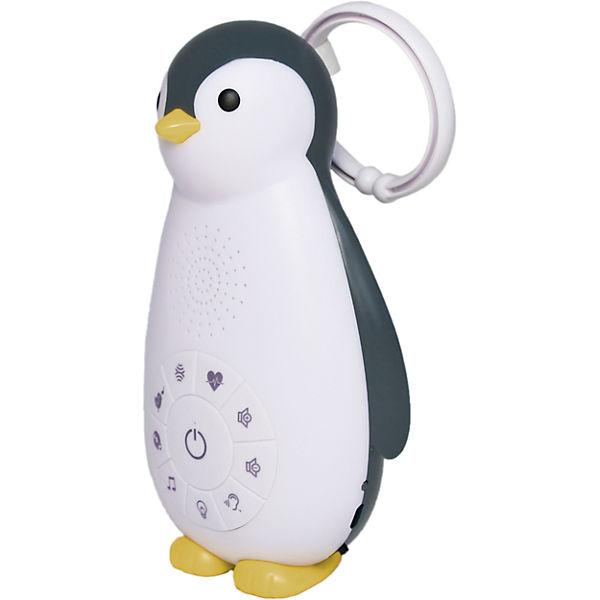 Беспроводная колонка+проигрыватель+ночник пингвинёнок Зои (ZOE). ZAZU. 0+. Серый. Арт. ZA-ZOE-01