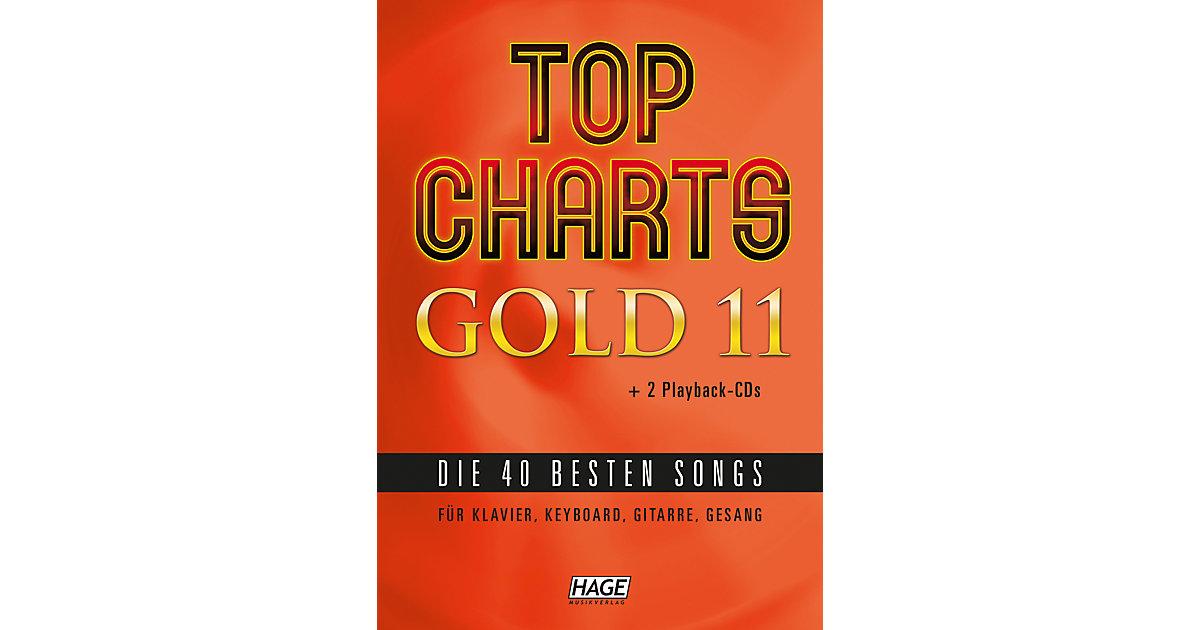 Top Charts Gold, mit 2 Audio-CDs