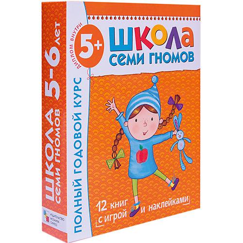 Полный годовой курс (12 книг) 5-6 лет, Школа Семи Гномов от Мозаика-Синтез