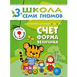 """Четвертый год обучения """"Счет, форма, величина"""", Школа Семи Гномов"""