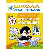 """Пятый год обучения """"Прописи для малышей"""", Школа Семи Гномов"""
