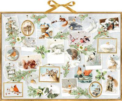 Marjoleins Wintergalerie, Adventskalender