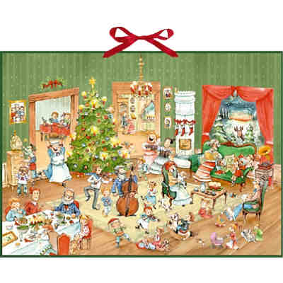 wimmelige weihnachtsfeier adventskalender coppenrath. Black Bedroom Furniture Sets. Home Design Ideas