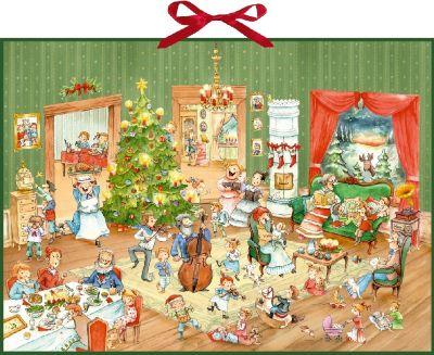 Wimmelige Weihnachtsfeier, Adventskalender