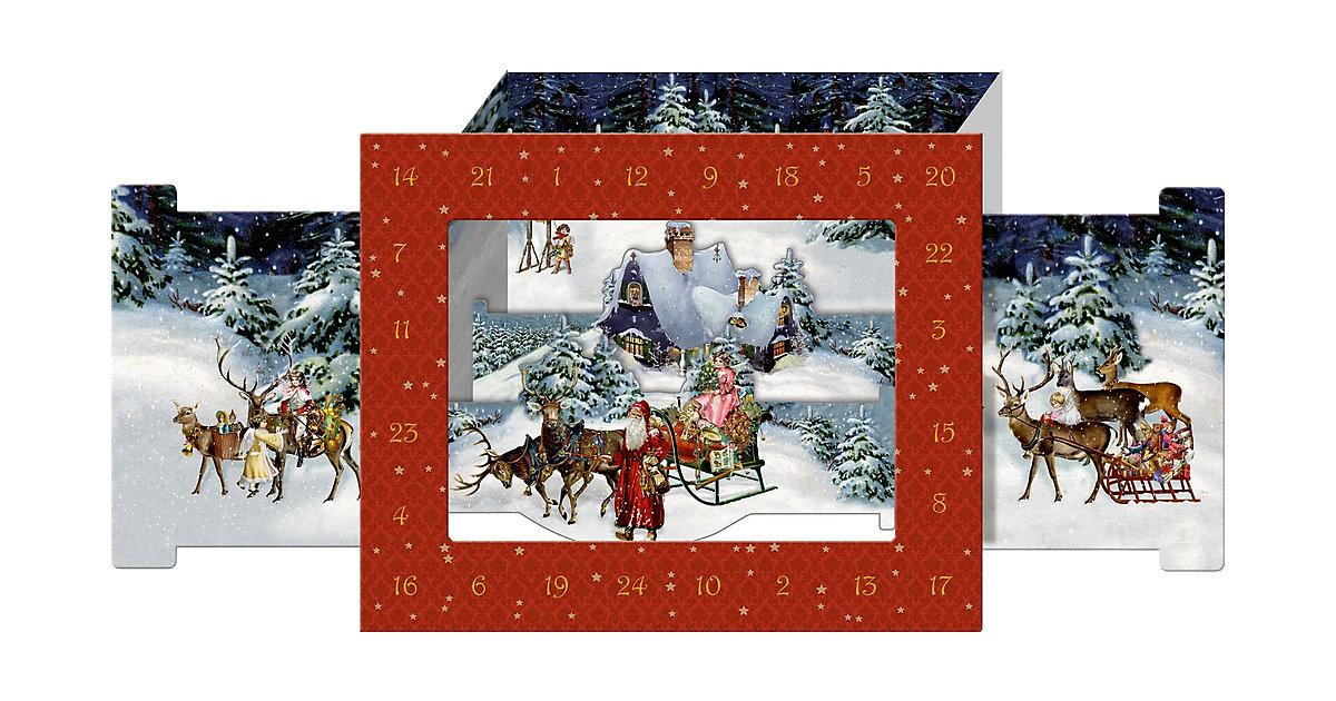 Wunderbare Weihnachtswelt, 3D-Aufstell-Adventsk...