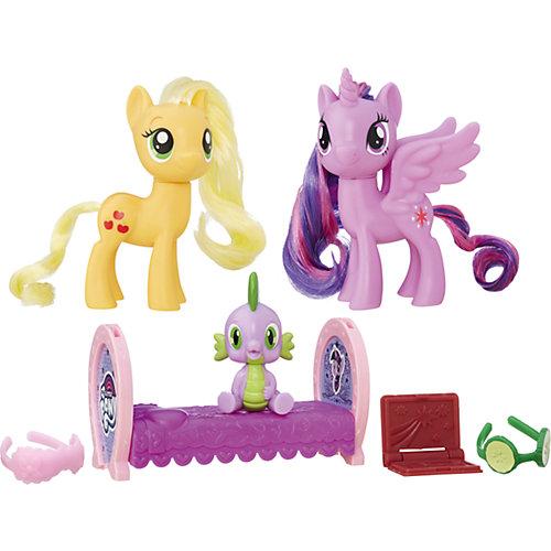 """Игровой набор My little Pony """"Уроки дружбы"""" Принцесса Твайлайт Спаркл и Эпплджек от Hasbro"""