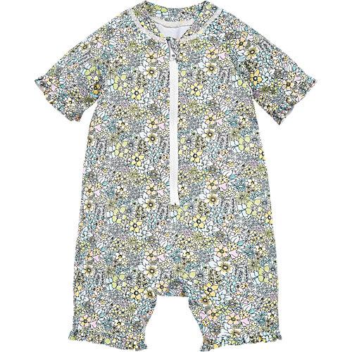 Schwimmanzug mit UV-Schutz Gr. 110/116 Mädchen Kinder | 05057231939338