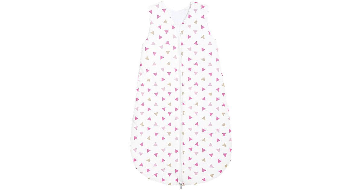 Sommer- Schlafsack Basic, Jersey pink Gr. 110