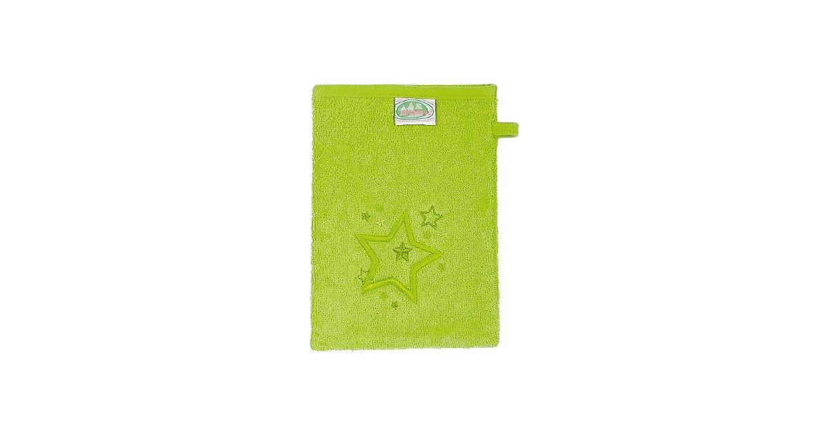 Odenwälder · Waschlappen Sterne, Frottee limette, 3er Pack