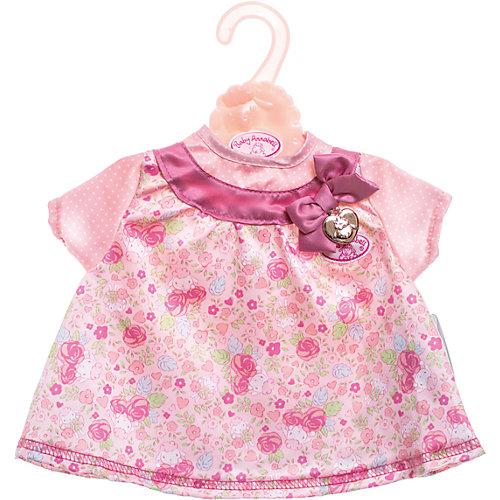 Платье для куклы, розовое, Baby Annabell от Zapf Creation
