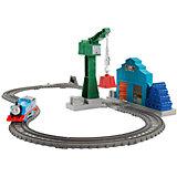 Набор с паровозиком Томасом и подъемным краном Крэнки, Томас и его друзья