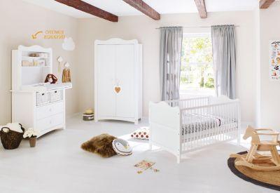 Komplett Kinderzimmer NORDIC DRIFTWOOD 3 tlg Kinderbett US