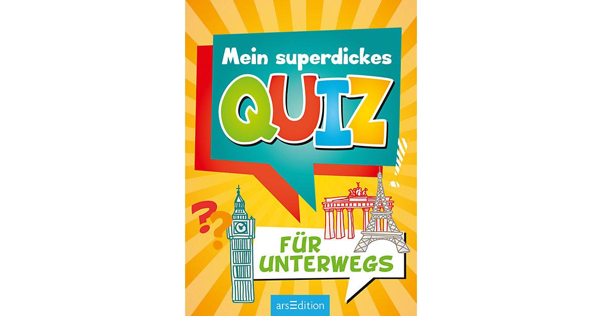 Mein superdickes Quiz unterwegs Kinder