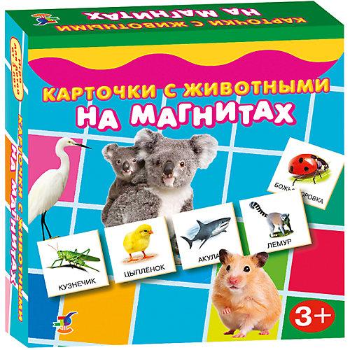 Карточки с животными на магнитах, Дрофа-Медиа