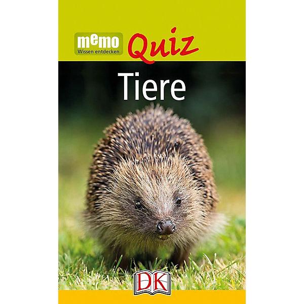 Memo Quiz: Tiere, Dorling Kindersley Verlag