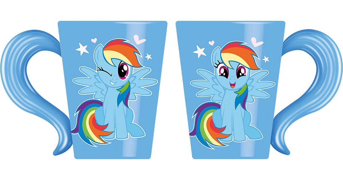 Tasse Porzellan My Little Pony Rainbow