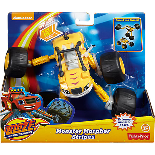 Чудо - вездеход Рык, Fisher Price, Вспыш и чудо-машинки от Mattel