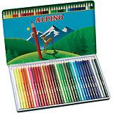 Цветные шестигранные карандаши, 36 цв.