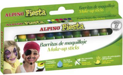 """Детский аквагрим """"Фиеста"""" (макияжные карандаши), 12*5 гр, 12 цв."""