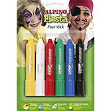 """Детский аквагрим """"Face Stick"""" (макияжные карандаши), 6*5 гр, 6 цв."""