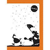 """Оранжевая тетрадь А5 """"Flex book"""" 80 листов, клетка"""