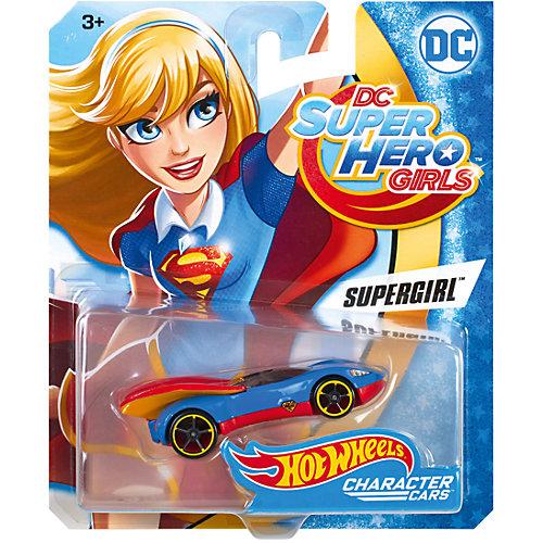 Машинка DCSHG Супергёрл, Hot Wheels от Mattel