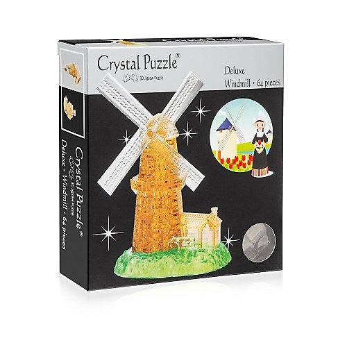 "Кристаллический пазл 3D ""Мельница, Crystal Puzzle от Crystal Puzzle"