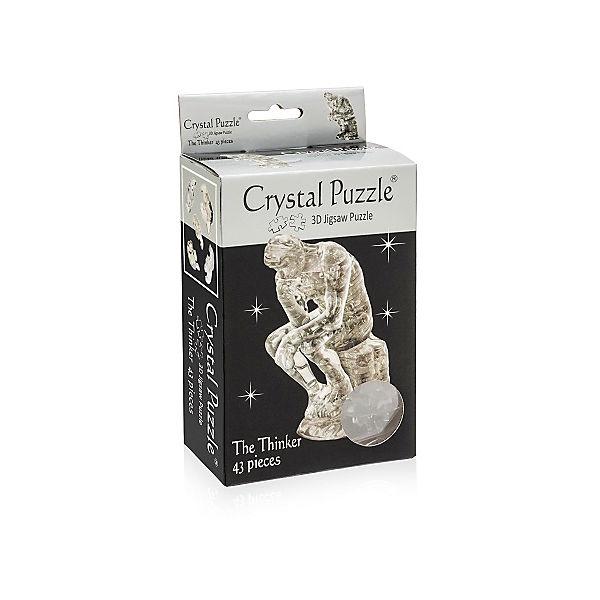 """Кристаллический пазл 3D """"Мыслитель"""", Crystal Puzzle"""