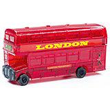 Кристаллический пазл 3D Crystal Puzzle  Лондонский автобус, 53 элемента