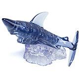 Кристаллический пазл 3D Crystal Puzzle Акула, 37 элементов