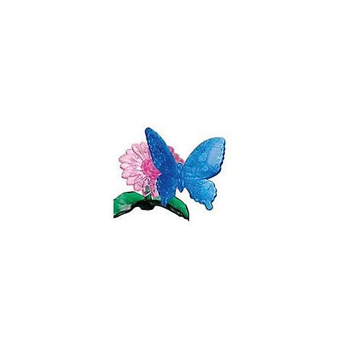 "Кристаллический пазл 3D ""Голубая бабочка"", Crystal Puzzle от Crystal Puzzle"