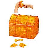 "Кристаллический пазл 3D ""Сундук"", Crystal Puzzle"