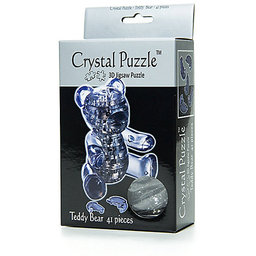 "Кристаллический пазл 3D ""Мишка"", Crystal Puzzle от Crystal Puzzle"