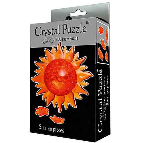 "Кристаллический пазл 3D ""Солнце"", Crystal Puzzle от Crystal Puzzle"