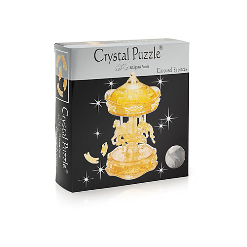 """Кристаллический пазл 3D """"Золотая карусель"""", Crystal Puzzle от Crystal Puzzle"""