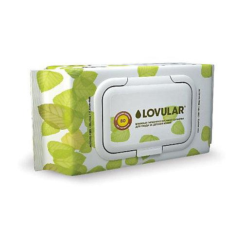 Влажные фито-салфетки Lovular, 40 шт - разноцветный