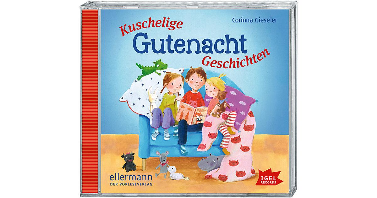 Kuschelige Gutenachtgeschichten, 1 Audio-CD